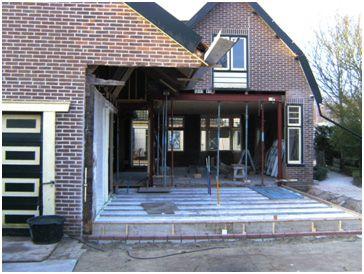 Renovatie woonhuis/schuur Oudkarspel