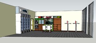 Verbouw shop tankstation Tesselaar