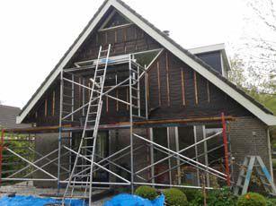 Plaatsen nieuw balkon en vervangen boei- en gootdelen