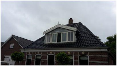 Dakrenovatie + nieuw dakkapel te Oudkarspel